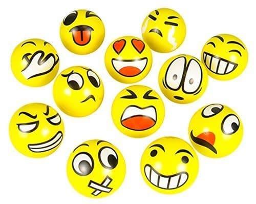 Emoji Face Squeeze Balls