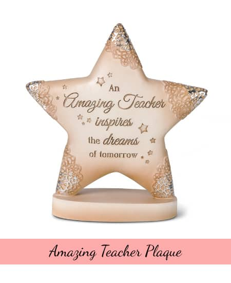 Amazing Teacher Plaque | great appreciation gift ideas for teacher appreciation week