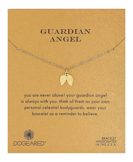 Dogeared Guardian Angel Pendant Necklace | national nurse week gift ideas, nurse graduation, nurse appreciation gift