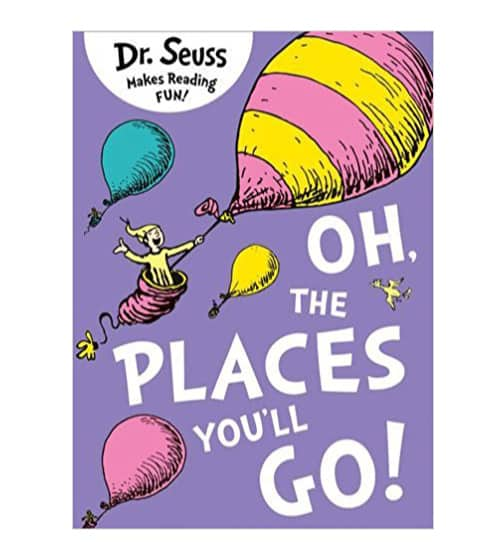 college graduation gift idea for guy - dr. seuss graduation book