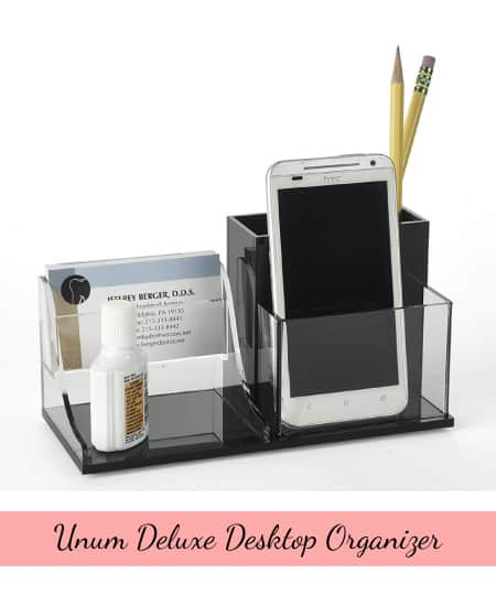 Unum Deluxe Desk Organizer | teacher gift school gift office gift ideas