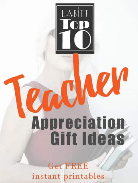 Teacher Appreciation Week Gift Ideas DIY to Make from Students | Gifts for Teacher Appreciation
