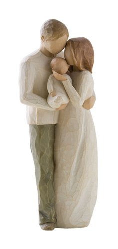 willow tree our gift figurine. sentimental new dad gift.
