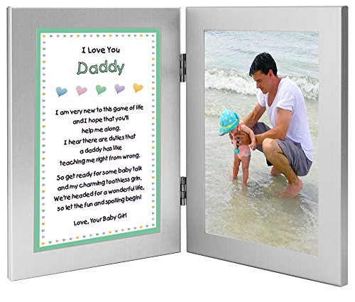 dad poem picture frame. sentimental gift.