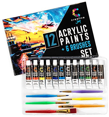 creative joy acrylic paint set