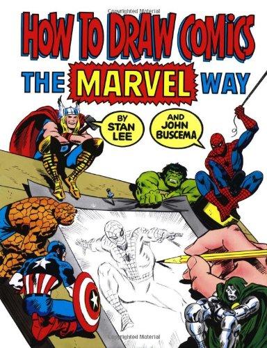 tween boy gift ideas - marvel: how to draw comics