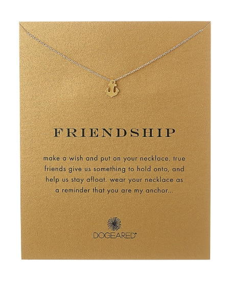 Friendship Pendant Necklace Sentimental Friend Gift