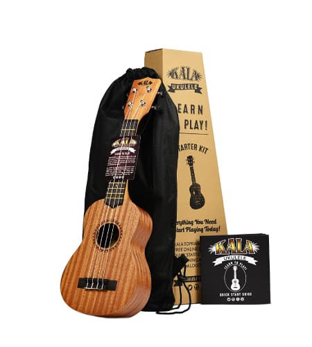 Kala Learn to Play Ukulele Starter Kit | National best friend day gift ideas for bestfriends