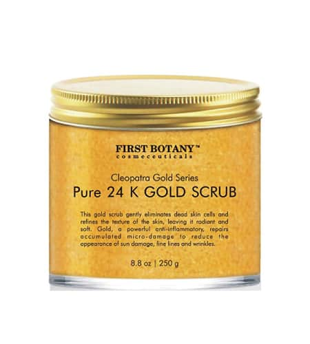 New Botany 24k Gold Scrub | Best Friend Day Gift Ideas | Long distance friendship gift