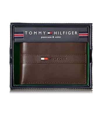 Tommy Hilfiger Men's Ranger Leather Wallet