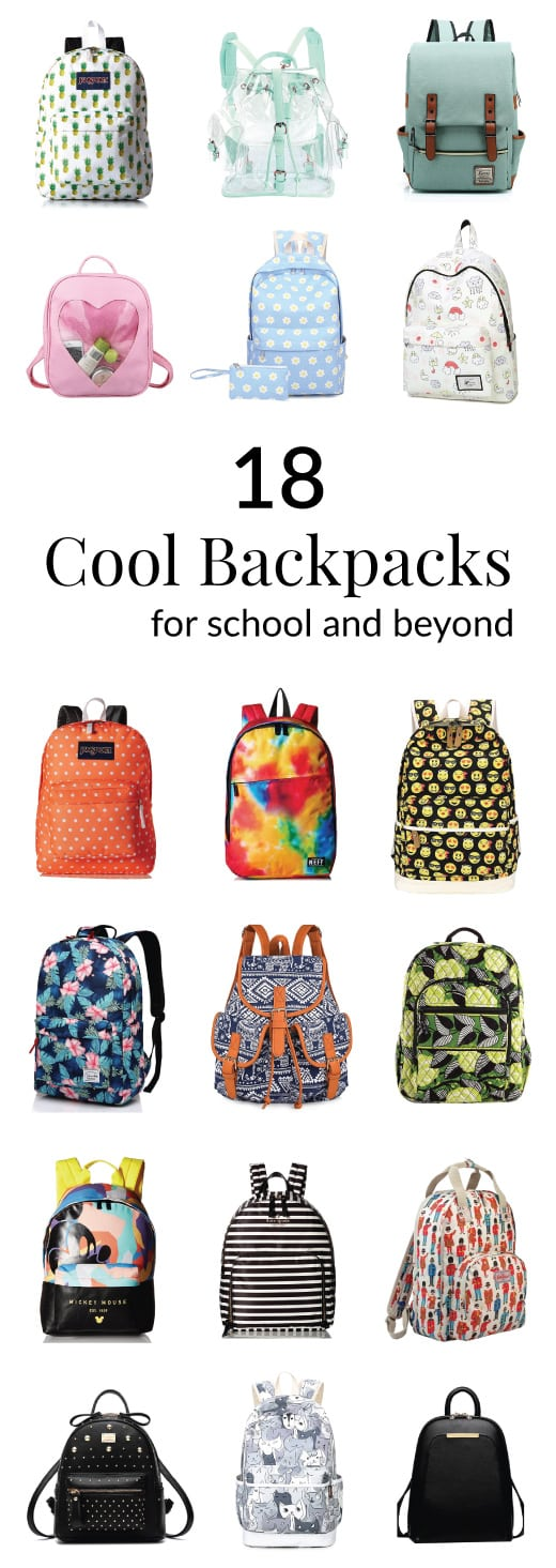 Stylish Backpack Collection. School bags, rucksacks, travel bags and more.