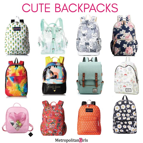 cute school backpacks