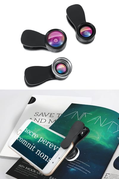 Cell Phone Camera Lens Kit | Receptionist Day gift ideas