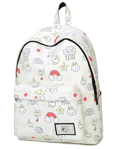 Leaper Doodle Drawings Backpack