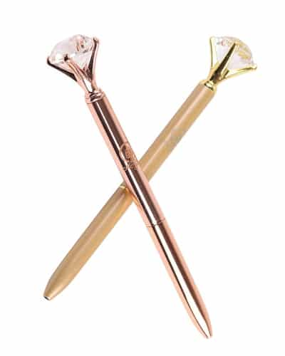 Diamond Pen - Receptionist Day gift ideas from boss   gift for staff