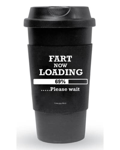 fart loading funny travel tumbler