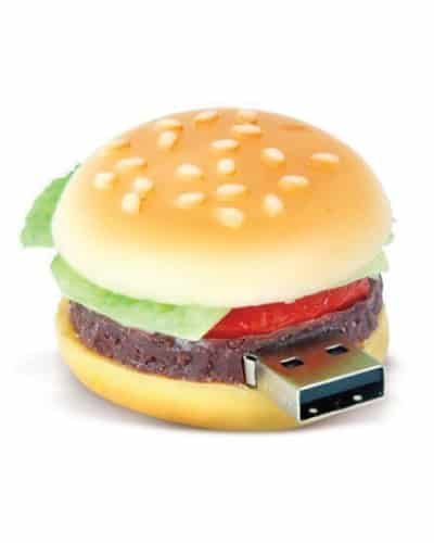 hamburger memory stick