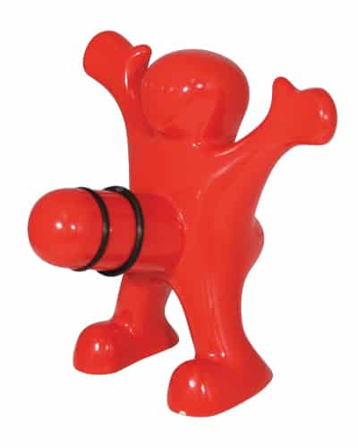 happy man bottle stopper - naughty gifts for bride