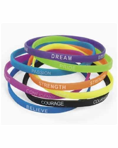 inspirational sayings bracelets