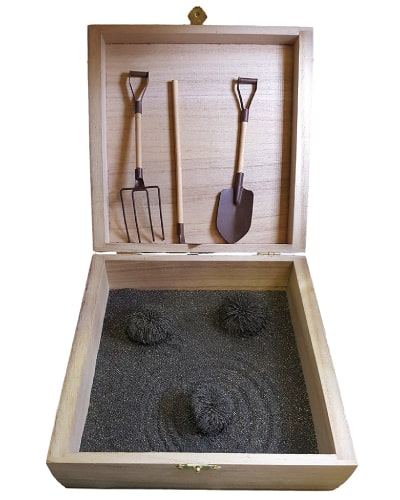 magnetic zen garden box
