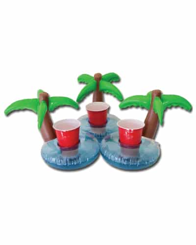 Palm Island Pool Floating Drink Holder