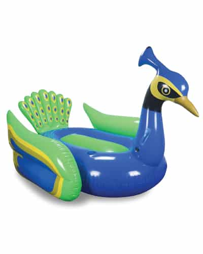 Graceful Peacock Pool Float