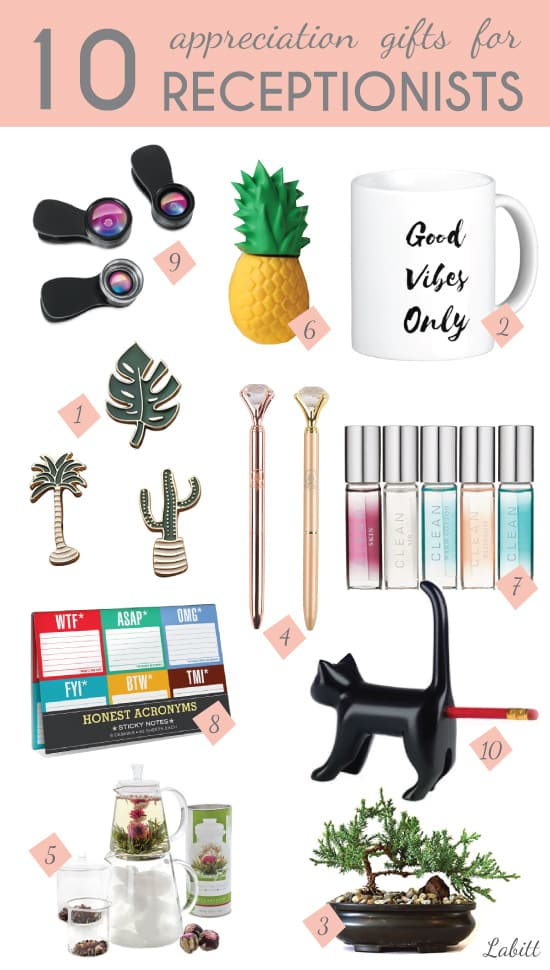 Receptionist Day Gift Ideas