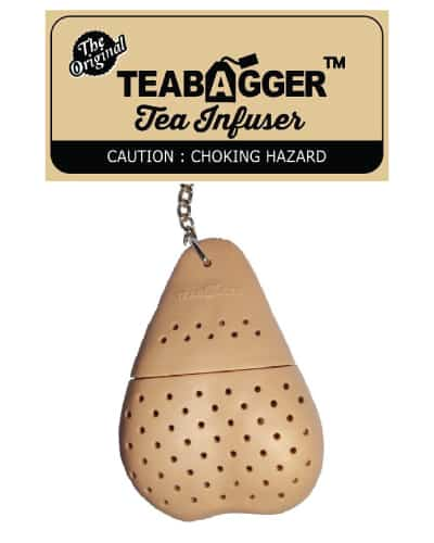 the teabagger tea infuser - naughty gifts for bride