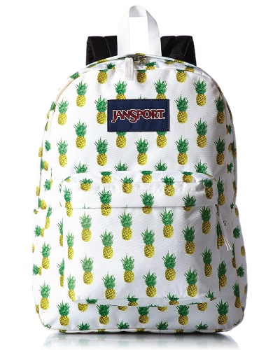 JanSport Superbreak Multi Tropic Gold Backpack