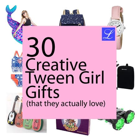 30 Tween Girl Gifts Perfect for Birthday Christmas and #2: tween girl ts collage square