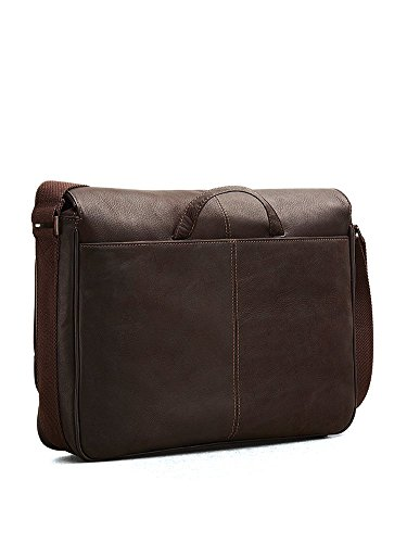 Kenneth Cole Risky Business Messenger Bag. 15 Year Wedding Anniversary Gift Ideas for Him, for Husband. Men Gifts for Guys.
