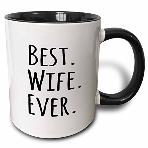 Best Wife Ever Mug. 15 Year Wedding Anniversary Gift Ideas for Her, for Wife. Women Gifts.