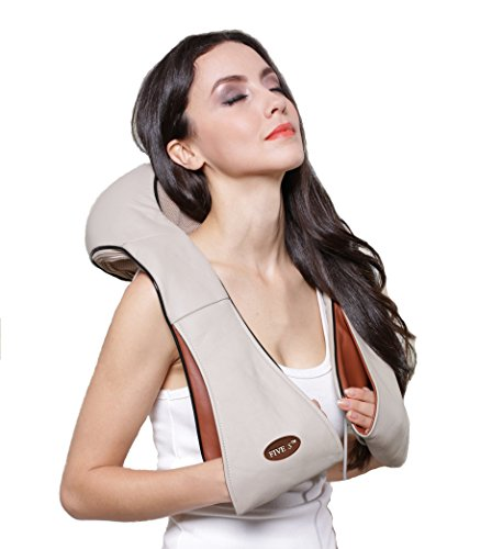 Shiatsu Neck & Back Massager. 15 Year Wedding Anniversary Gift Ideas for Him and for Her. Gifts For Husband and Wife. Parent Gift.