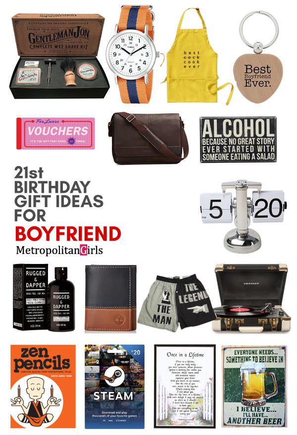 21st Birthday Gift Ideas Boyfriend