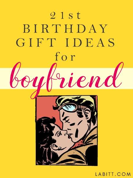 21st Birthday Gift Ideas for Boyfriend Metropolitan Girls