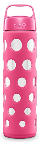 Ello Pink Water Bottle - Polka Dot
