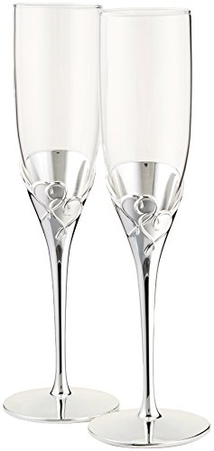 True Love Glass Flute Set by Lenox