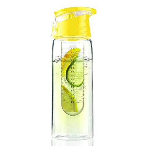 Asobu Yellow Water Bottle