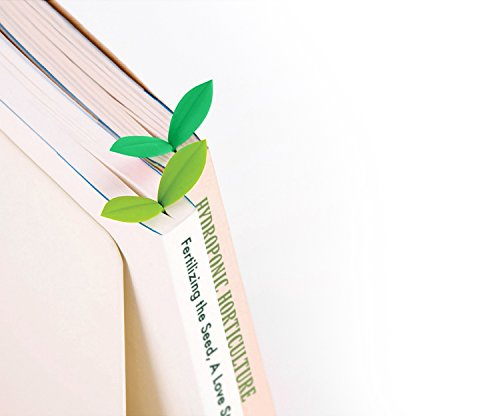 little green sprout bookmarks