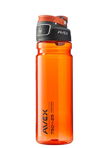 AVEX Orange Water Bottle
