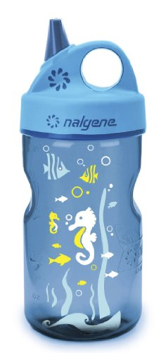 Nalgene Blue Water Bottle