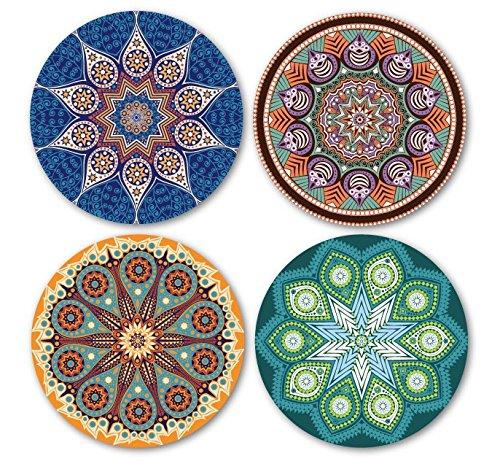 Mandala Stone Coasters
