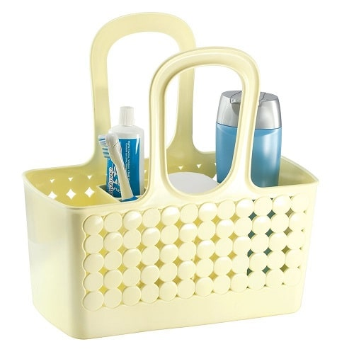 Bathroom Shower Tote. Dorm survival. Going to college supplies checklist.