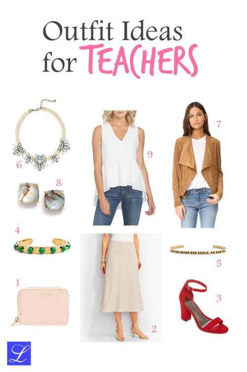 Outfit 3. Cool school outfit ideas for teachers