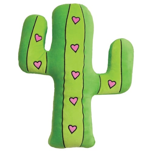 Cactus Pillow. Dorm room ideas for girls college.