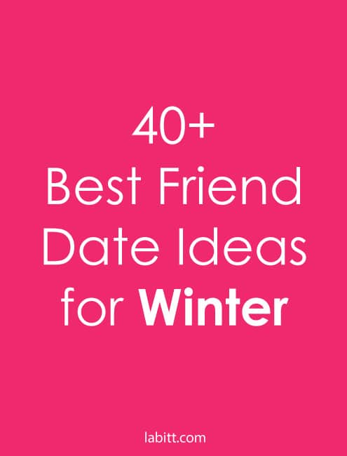 Fun dates to go on in the winter