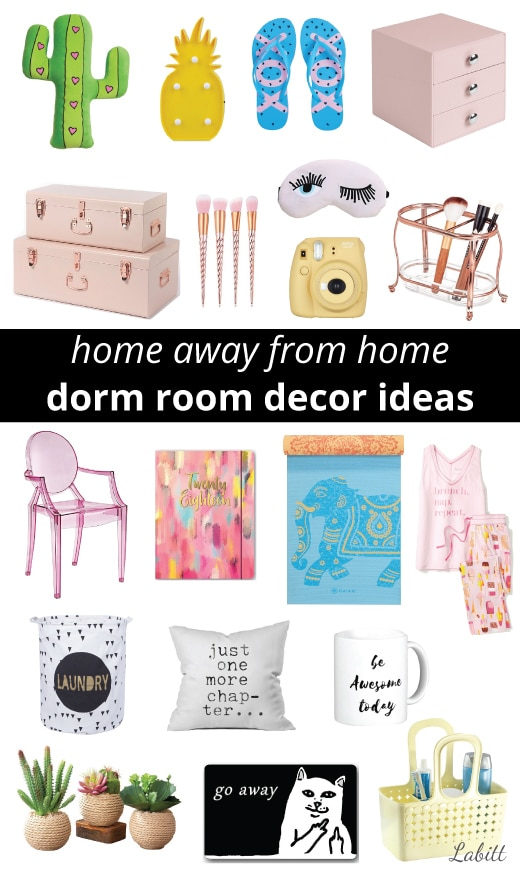 College Dorm Decor Ideas for Girls