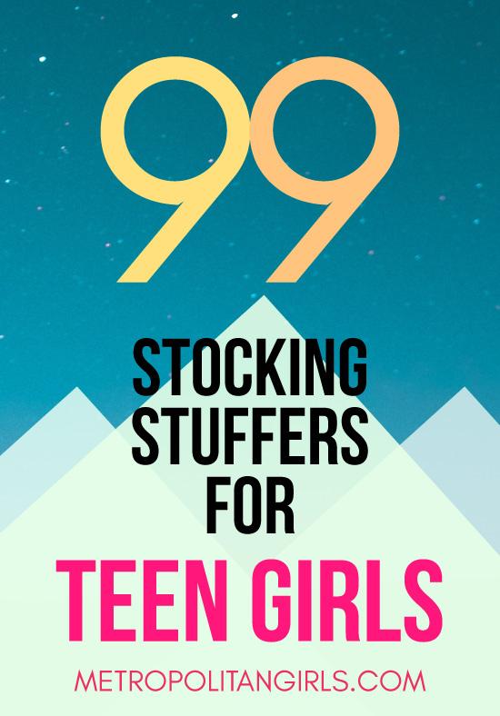 99 Christmas stocking stuffer ideas for teen girls