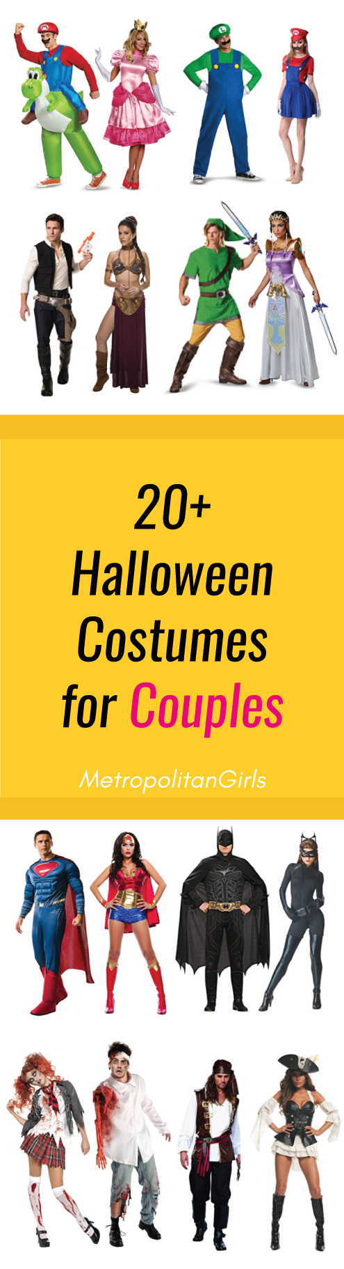 20+ Halloween Couple Costume Ideas