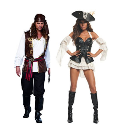 Pirates costumes for couples - halloween-couples-costumes